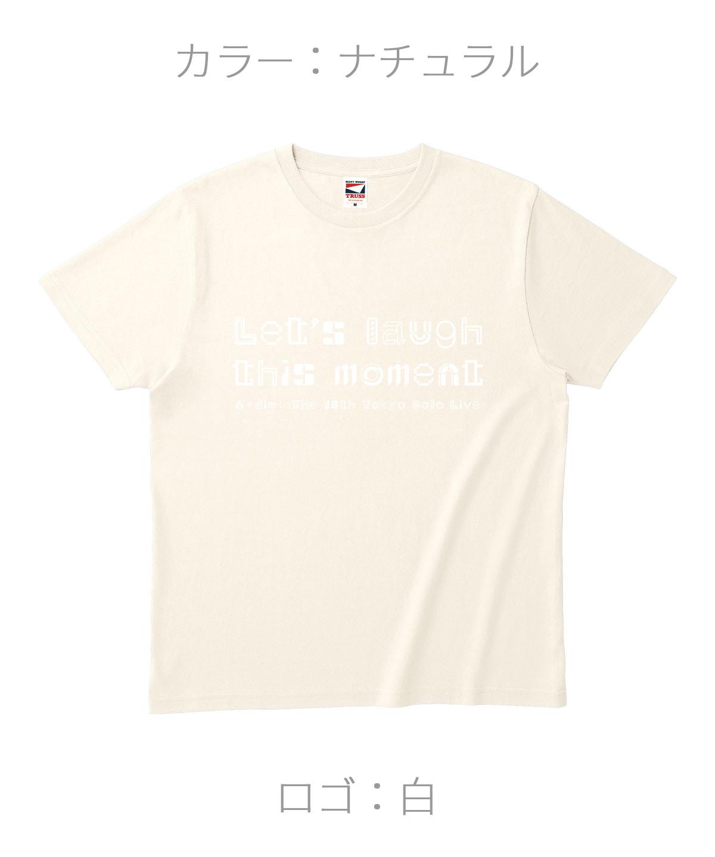 ロクディム|単独公演Tシャツ受注生産|カラー:ナチュラル/ロゴ:白