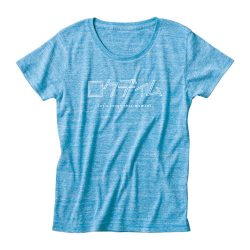 ロクディムTシャツ:カタカナロゴ・青