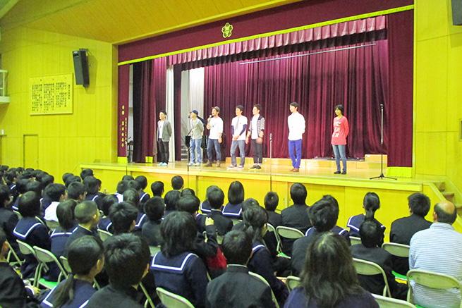 愛知県名古屋市立楠中学校