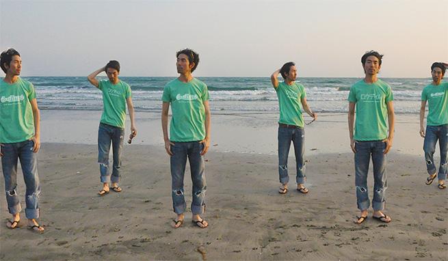 ロクディムTシャツ着用イメージ