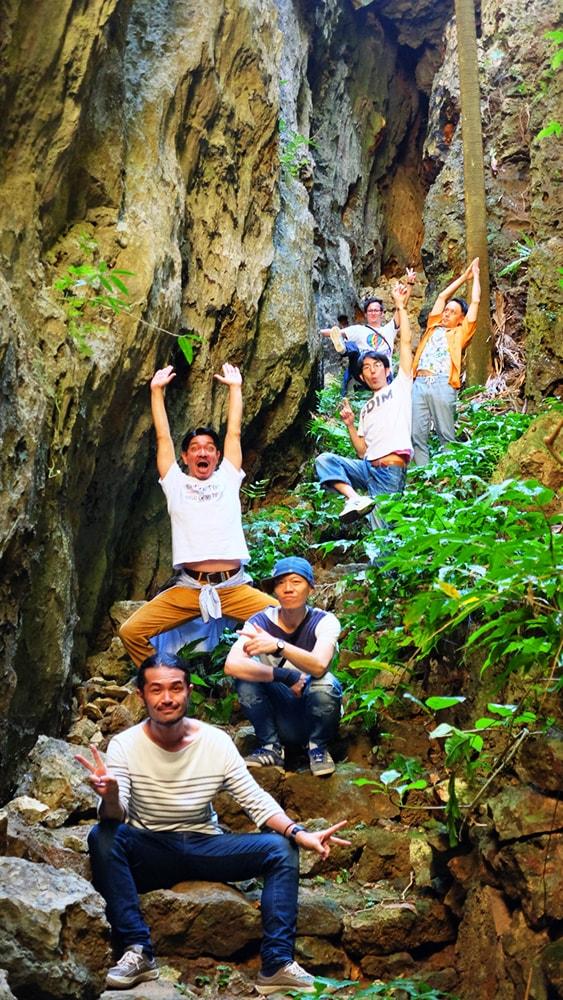 南大東島・バリバリ岩