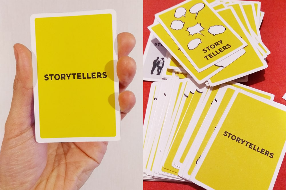 ロクディム式#StayHome アナログ・オンライン・カードゲーム「STORYTELLERS」