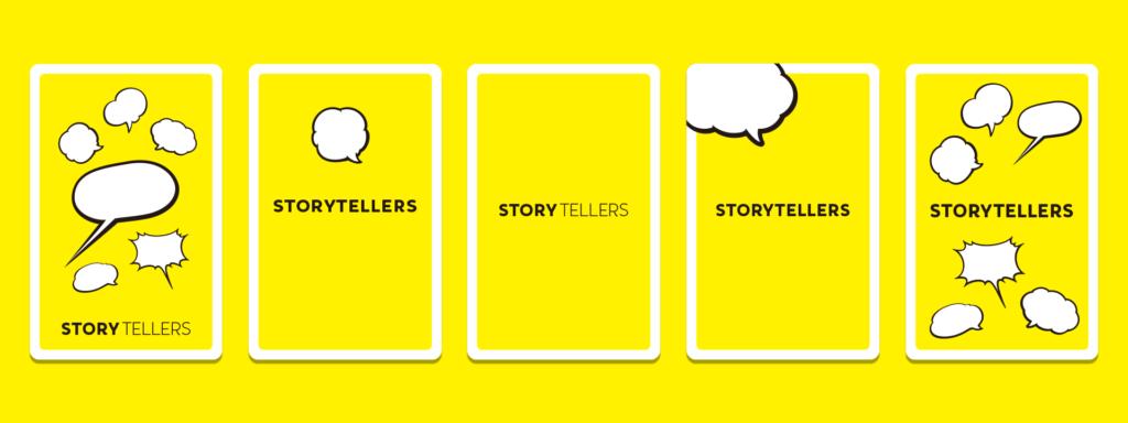 アナログ・オンライン・カードゲーム「STORYTELLERS」